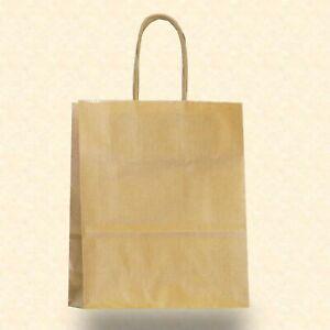Papiertragetaschen Papiertüten braun weiß Kordel Papier Tragetasche Tüte Shopper