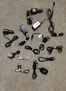 MIXED LOT OF CORDS FOR ELECTRONICS, PHONES, CHARGERS ETC