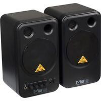 BEHRINGER MONITOR SPEAKERS MS16 coppia casse monitor speaker attivi  2vie NUOVO