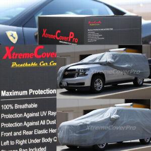 2015 CADILLAC ESCALADE ESV Breathable Car Cover w/Mirror Pockets - Gray