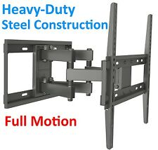 Full Motion Smart Tv Wall Mount Plasma LCD LED Bracket Fits most 32 - 55 Inch
