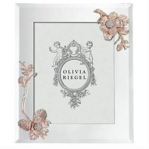 "Olivia Riegel Rose Gold 'Botanica' 8x10"" Frame, NIB"