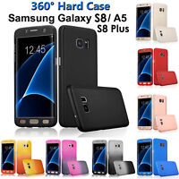 Hybrid 360° Hard Case Screen Protector Full Cover Samsung Galaxy A5 2017 S8+ S7