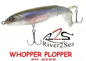 "River2Sea Whopper Plopper 90, 3-1/2"" 3/8 oz, New, Choice of Colors"