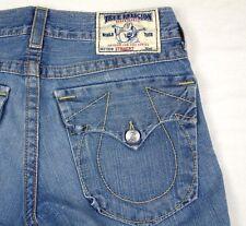 True Religion Denim Jeans Section Straight Seat 30 W32 x L34 VGUC