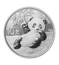 Silbermünze China 10 Yuan Silber China Panda 2020 (Feinsilber 30 g)