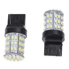 2X T20 7443 3020 W21/5W Car White 64 SMD LED Stop Tail Turn Light Bulb 12V L8L8