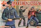 RED BOX 1/72 policías y ciudadanos #72037