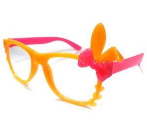 ANT Bunny Frame Design Kids Fashion Glasses Eyewear - YELLOW