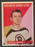 1958-59  TOPPS  # 35  BRONCO HORVATH   INV 10209