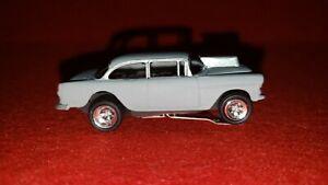 55 Chevy Primer Gray Model Motoring Slot Car 1955 - Two Lane Blacktop