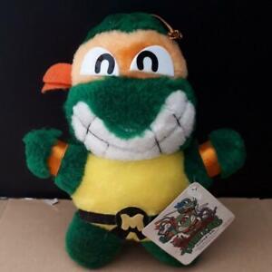 Teenage Mutant Ninja Turtles Michelangelo Plush Vintage Retro Rare TAKARA 1992