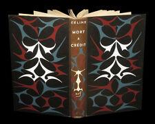 [Cartonnage BONET PRASSINOS] CELINE (Louis-Ferdinand) - Mort à crédit. 1/750.