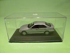 MINICHAMPS BMW 3 SERIES 4 DOORS - METALLIC SILVER / GREY 1:43 - EXCELLENT IN BOX