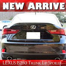 Fit For Lexus IS250 IS350 IS F PUF Window Rear Trunk Lip Spoiler Wing Painted