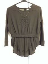 Isabel Marant Embroidered Lace Top Size UK 6-8 Cotton Good Condition
