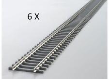 PIKO HO 55150 a-voie 6 pièces Rail flexible betonschwelle Longueur 940 mm, NEUF