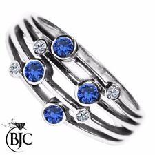 Ringe mit Diamant echten Edelsteinen im Statement-Stil für Damen