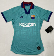 Nike Womens FC Barcelona At2516-310 Third Soccer Jersey Shirt 19/20 Sz XS