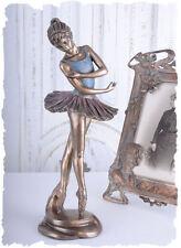 Bailarina Figura Ballet bailarina en el tutú nostálgico Escultura