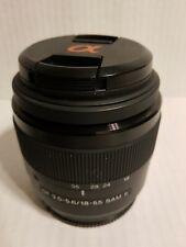 Sony DT 18-55mm f3.5-5.6 SAM II Lens SAL18552 A Mount #186