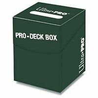 ULTRA PRO *PRO DECK BOX* GREEN FOR MTG WoW POKEMON YUGIOH CARDFIGHT VANGUARD