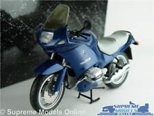 BMW R 1100 RS MOTORBIKE MODEL 1:24 SIZE MINICHAMPS CYC RS1105 BLUE CYCLE LINE T3