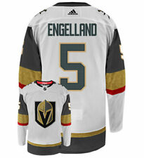 Deryk Engelland Vegas Golden Knights Adidas Authentic Away NHL Hockey Jersey