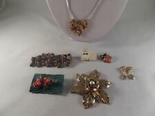 Necklace Earrings and More Jewelry Lot 1M1