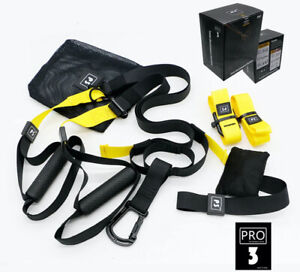 """P3 PRO RESISTANCE SUSPENSION TRAINER MULTIFUNCTIONAL WORKOUT AT HOME """"TRX STYLE"""""""