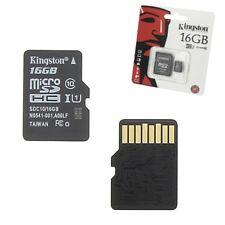 Carte Mémoire Micro SD 16 Go classe 10 Pour Motorola MOTO E 4G