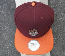Black Scale Strpalte Mens Burgundy/orange Skate Co. Strap Snapback Hat