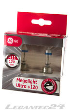 2er Set H11 12Volt 55Watt PGJ19 GE53110SNU General Electric Megalight Ultra+120%