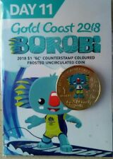 Day 11  Borobi $1 Coin. Gold Coast Commonwealth Games 2018, Last day coin