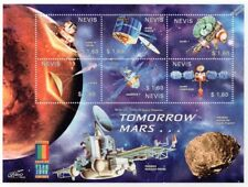 TOMORROW MARS Exploration Probes & Landers Space Stamp Sheet #1 (2000 Nevis)
