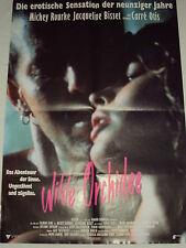 a3 W/1/14 DDR Filmposter Filmplakat Wilde Orchidee Mic. Rourke Jacqueline Bisset