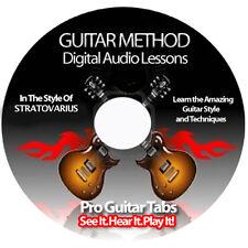STRATOVARIUS Guitar Tab Software Lesson CD + BACKING TRACKS + FREE BONUSES