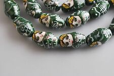New Multi-Colors Clay Russian Doll Ceramic Girl Spacer Bead  Finding Charms 22mm