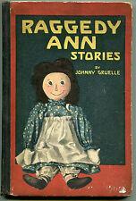 Raggedy Ann Stories by Johnny Gruelle - (hardbound, 1918, First edition)
