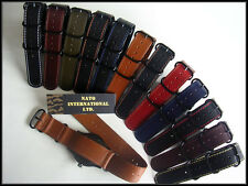 20mm Olive NATO G10 Shell Oily UTC Military combat watch band strap IW SUISSE 22