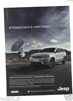 Publicité 2013 - JEEP - Grand Cherokee