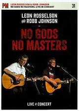 Leon Rosselson and Robb Johnson: No Gods No Masters - Live in Concert New DVD