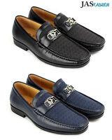 Mens Slip On Casual Shoes JAS Designer Loafers Smart Wedding Office Work UK Size
