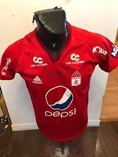 MENS Medium Adidas Soccer Football Futbol Jersey America Columbia