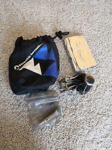 MSR Whisperlite Folding Single Burner Camping Backpacking stove + EXTRAS #004