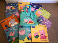 Peppa Pig Collection 10 Books Set in Blue Canvas Bag