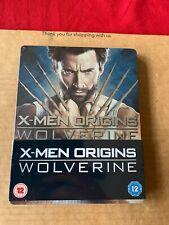 X-Men Origins: Wolverine Blu Ray Steelbook NEW & SEALED Hugh Jackman Marvel OOP