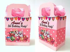 Shopkins Party Bags, Personalised Favour, Treat Gift Sweets Boxes Girls Birthday