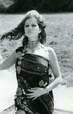 SEXY CLAUDIA CARDINALE 60s  VINTAGE PHOTO ORIGINAL #2 ANGELO FRONTONI