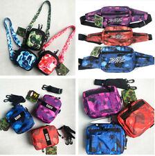 2020 Men Women Bape & Busy Works Camo Waist Bag Shoulder Bag Crossbody 9 Style